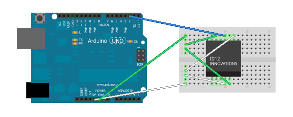 Reading RFID tags with Arduino and ID12 | jCoder's Blog